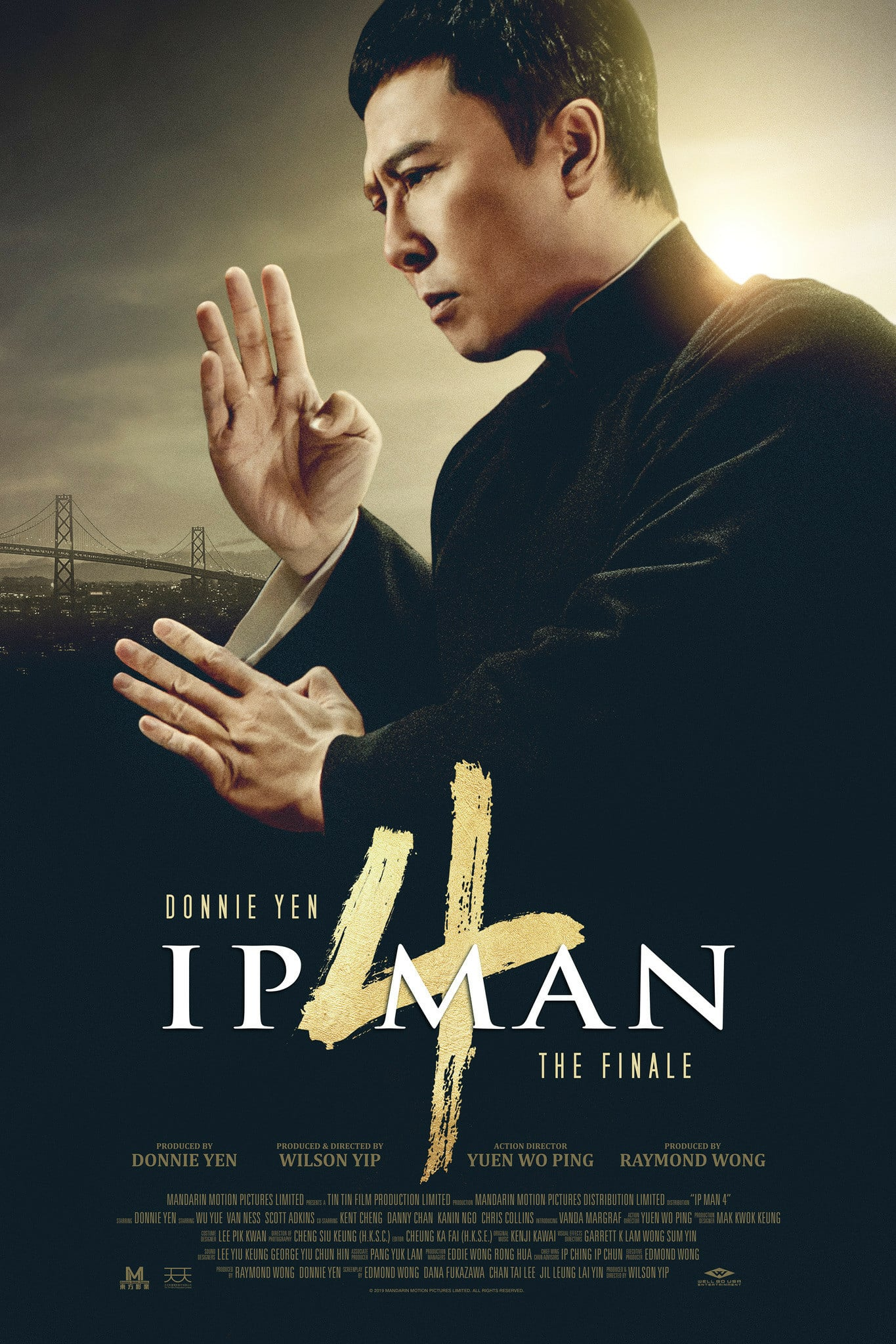 "Poster for the movie ""Ip Man 4: The Finale"""